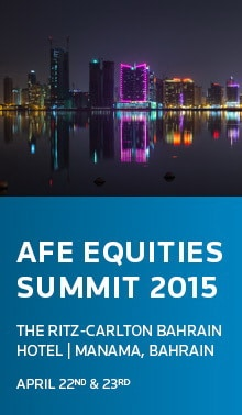 "The Arab Federation of Exchanges Annual Conference ""AFE Equities Summit 2015"""