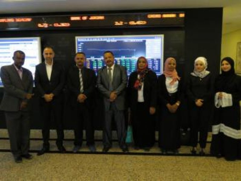 A-Delegation-from-Khartoum-Stock-Exchange-Visits-A