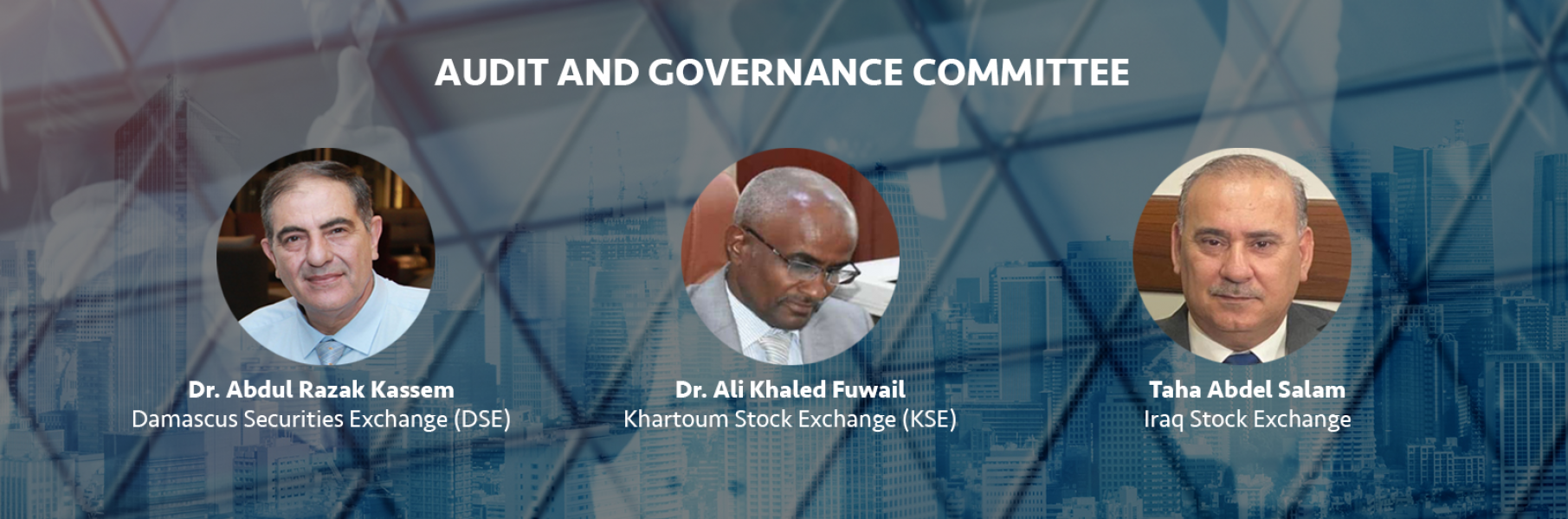 AUDIT AND GOVERNANCE COMMITTEE