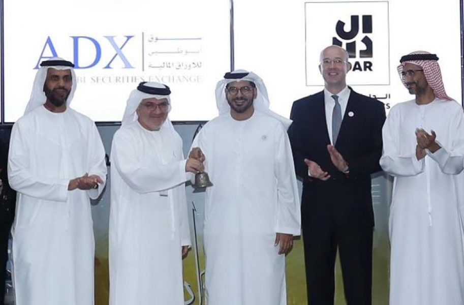 Abu-Dhabi-Securities-Exchange-(ADX)-Lists-Aldar-In