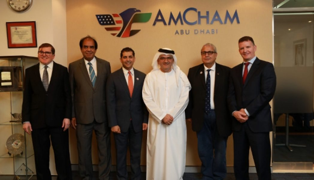 Abu-Dhabi-Securities-Exchange-Meets-With-AmCham-to