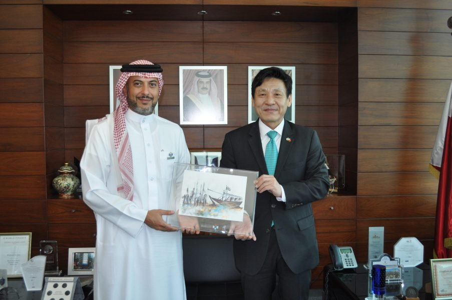 Bahrain-Bourse-Receives-the-Korean-Ambassador