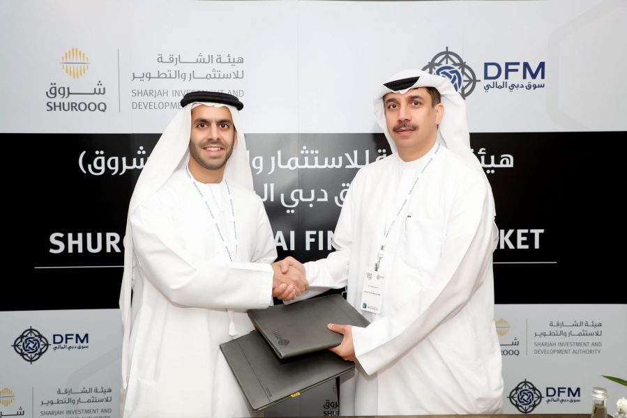 Dubai-Financial-Market-Signs-MoU-with-(Shurooq)-to