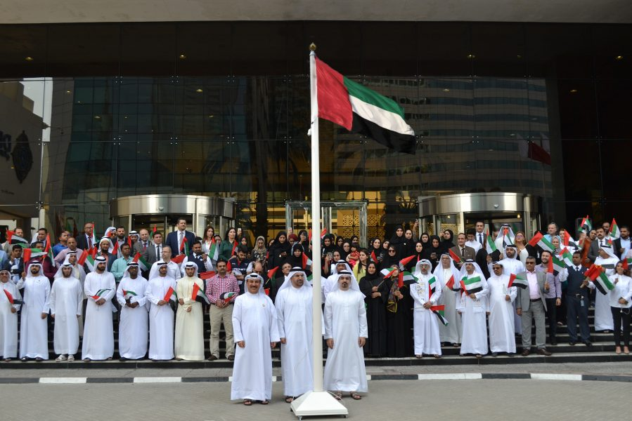 Dubai-Financial-Market-celebrates-the-Flag-Day""