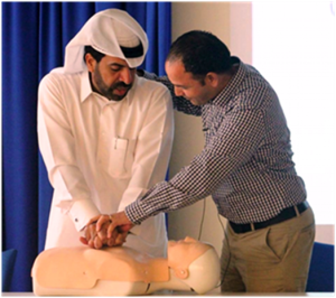 Qatar-Stock-Exchange-Held-First-Aid-Training-Works