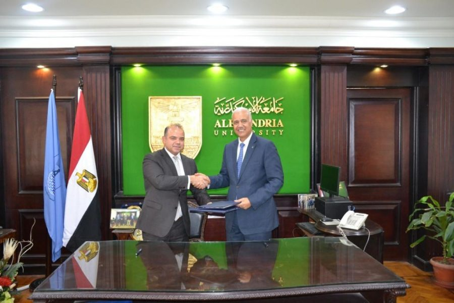 The-Egyptian-Exchange-Signs-an-MOU-with-Alexandria